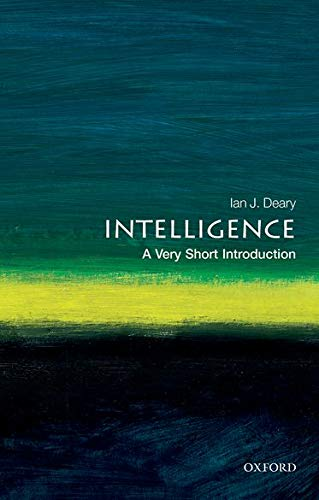 9780192893215: Intelligence: A Very Short Introduction (Very Short Introductions)