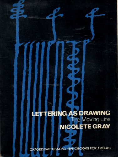 9780192899064: Lettering as Drawing: Moving Line (Handbooks for Artists)