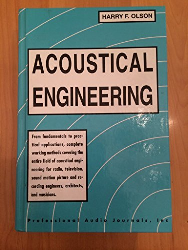 9780193007048: Acoustical engineering