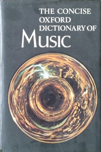 9780193113022: Concise Oxford Dictionary of Music