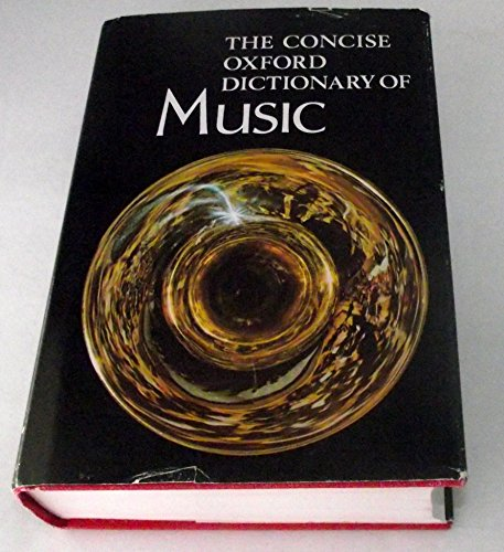 9780193113077: Concise Oxford Dictionary of Music
