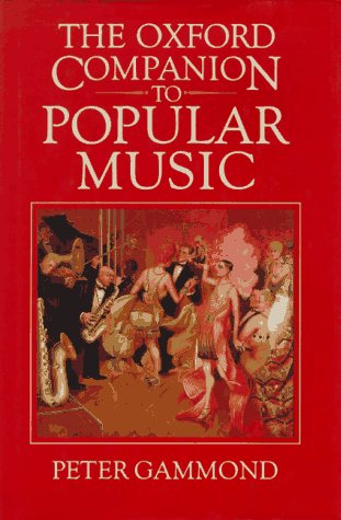 9780193113237: The Oxford Companion to Popular Music