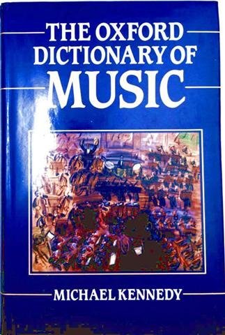9780193113336: The Oxford Dictionary of Music