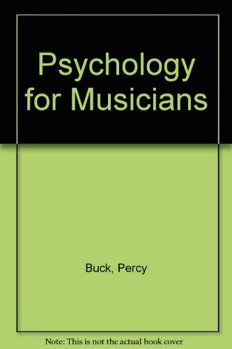 9780193119048: Psychology For Musicians