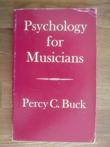 9780193119147: Psychology for Musicians