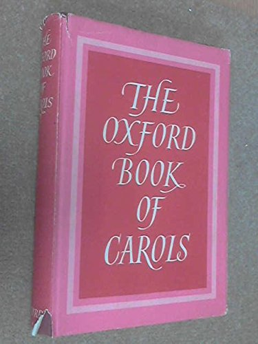 9780193131040: The Oxford Book of Carols (Music Edition)