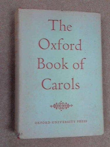 9780193131200: Oxford Book of Carols