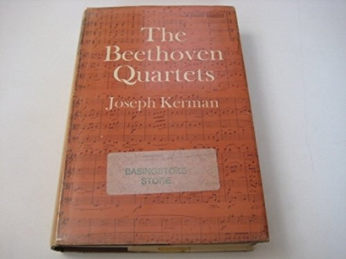 9780193151352: The Beethoven Quartets - 1st Edition/1st Printing