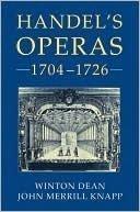 9780193152199: Handel's Operas 1704-1726