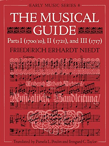 9780193152519: The Musical Guide: Parts 1 (1700/10), 2 (1721), and 3 (1717) (Early Music Series) (Pt.1-3)