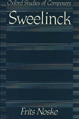 9780193152595: Sweelinck (Oxford Studies of Composers)