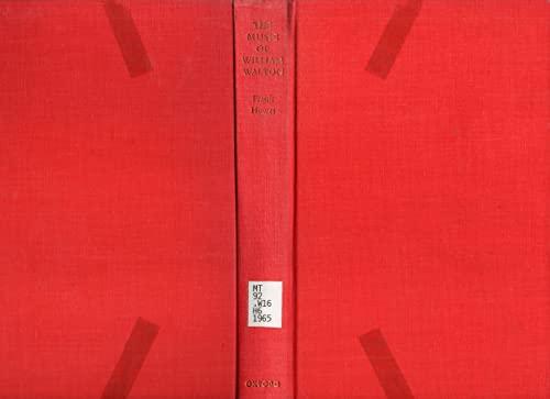 9780193154124: The Music of William Walton.