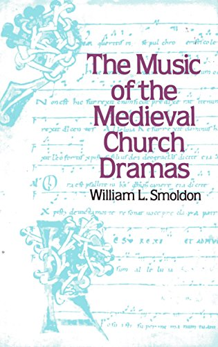 9780193163218: The music of the medieval church dramas