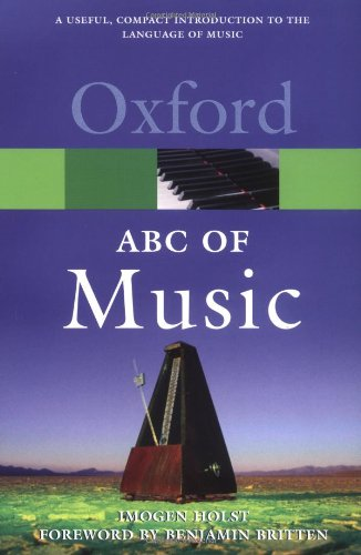 9780193171039: An ABC of Music (Oxford Quick Reference)
