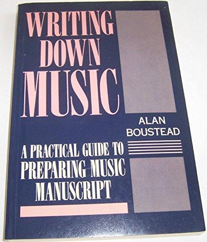 9780193171046: Writing Down Music