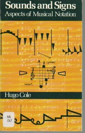 9780193171053: Sounds and signs;: Aspects of musical notation