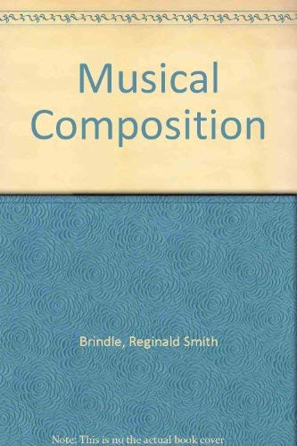 9780193171084: Musical Composition