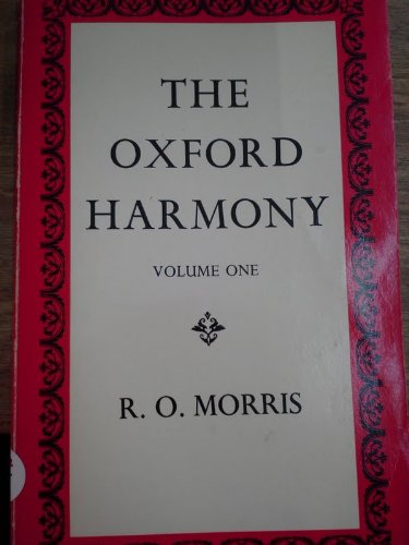 9780193173156: Oxford Harmony: v. 1