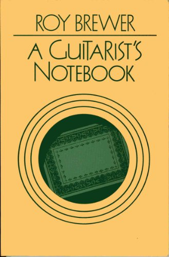 9780193185111: A Guitarist's Notebook