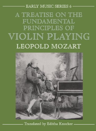 9780193185135: A Treatise on the Fundamental Principles of Violin Playing (Oxford Early Music Series)
