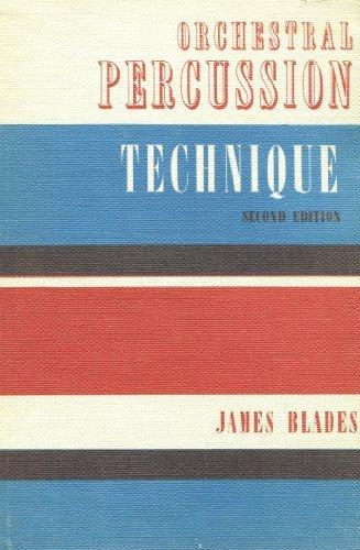 9780193188037: Orchestral Percussion Technique