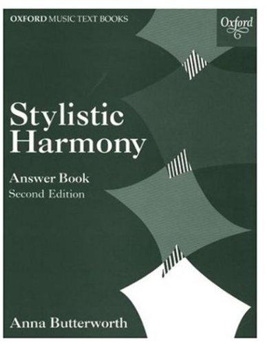 9780193210561: Stylistic Harmony Answer Book (Oxford Music Examination Workbooks)