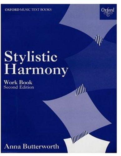 9780193210592: Stylistic Harmony Work Book (Oxford Music Examination Workbooks)