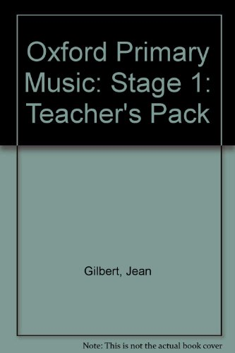 9780193212633: Oxford Primary Music: Stage 1: Teacher's Pack