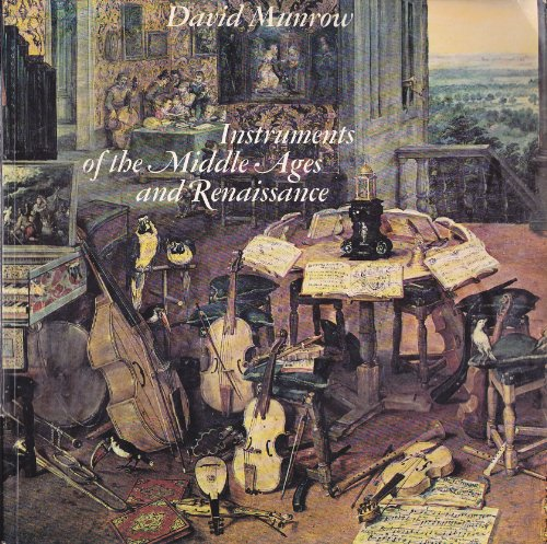 9780193213210: Instruments of the Middle Ages and Renaissance
