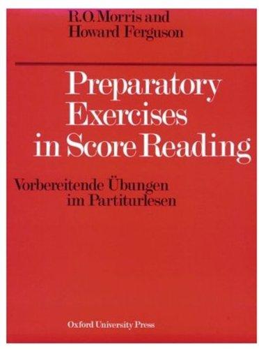 9780193214750: Preparatory Exercises in Score Reading (Vorbereitende Ubungen im Partiturlesen)