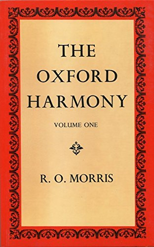 9780193214910: The Oxford Harmony: Volume 1
