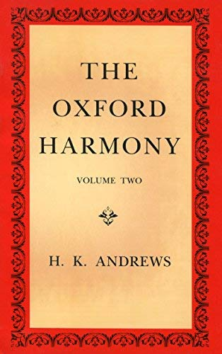 9780193214927: The Oxford Harmony, Volume Two