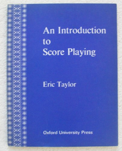 9780193217317: An Introduction to Score Playing