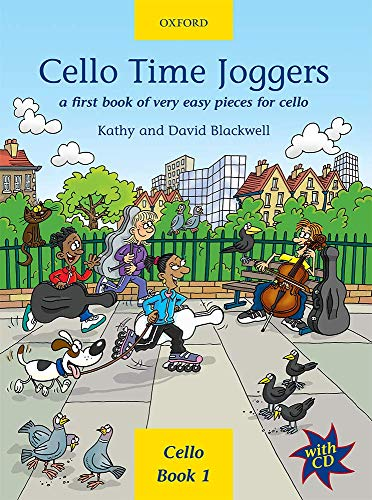 9780193220874: Cello Time Joggers + CD: A first book of very easy pieces for cello