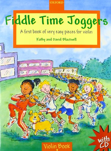 9780193220898: Fiddle Time Joggers + CD: A first book of very easy pieces for violin
