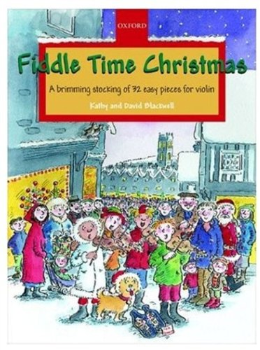 9780193220904: Fiddle Time Christmas