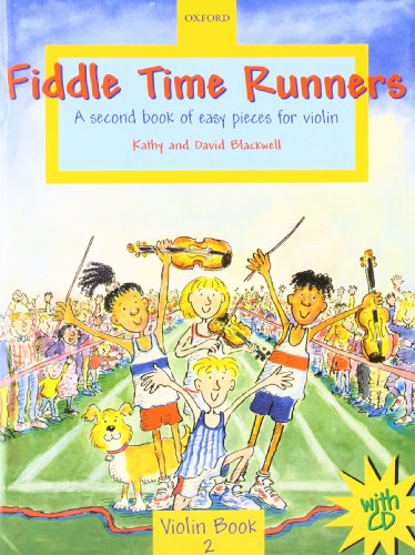9780193220959: Fiddle Time Runners with CD: A second book of easy pieces for violin
