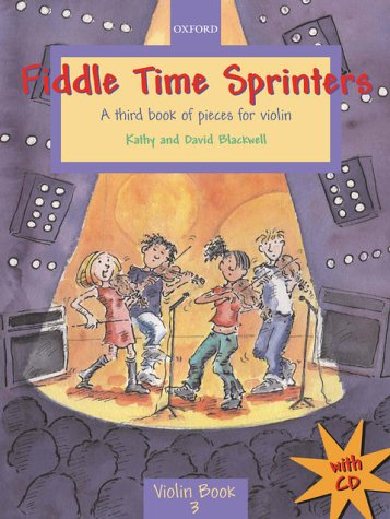 9780193220966: Fiddle Time Sprinters + CD: A third book of pieces for violin