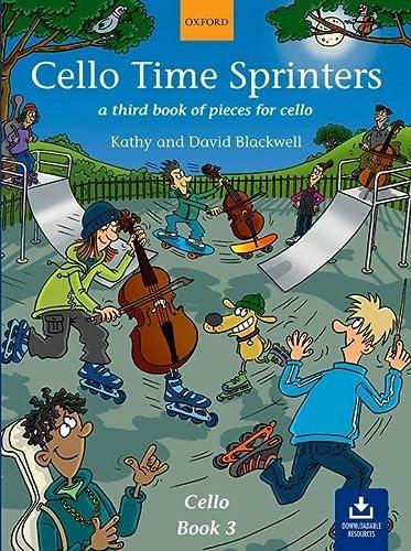 9780193221154: Cello Time Sprinters + CD: A third book of pieces for cello