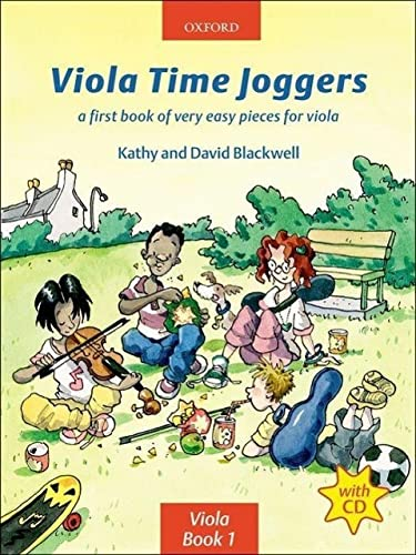 9780193221178: Viola Time Joggers + CD: A first book of very easy pieces for viola