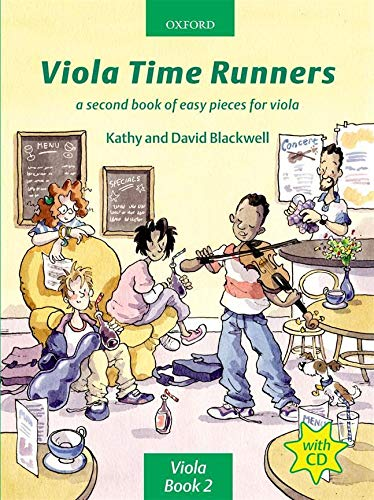 9780193221185: Viola Time Runners + CD: A second book of easy pieces for viola