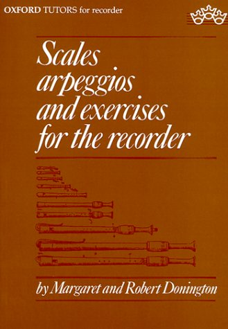 Scales, Arpeggios, and Exercises for the Recorder (Sopranino, Descant, Treble, Tenor, and Bass): ...