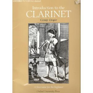 9780193221802: Introduction to the Clarinet; A First Tutor for the Beginner