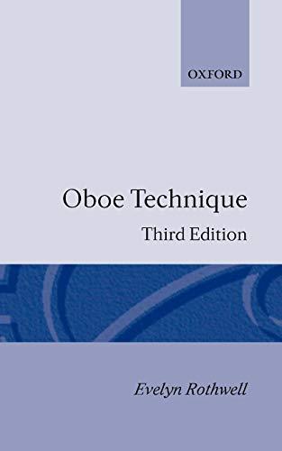 9780193223332: Oboe Technique