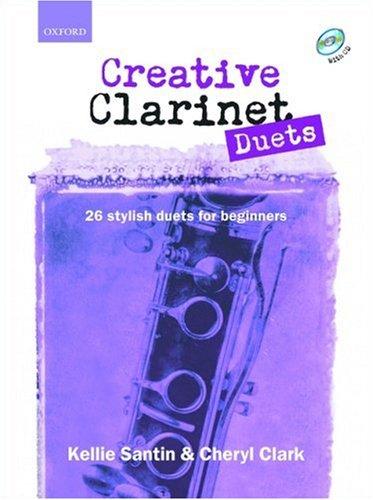 9780193223714: Creative Clarinet Duets + CD