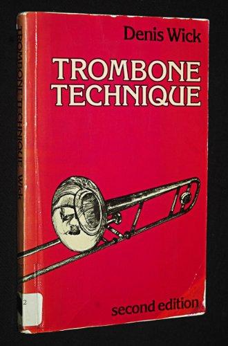9780193223783: Trombone Technique