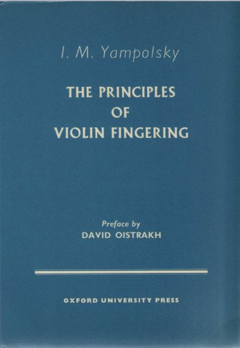 9780193223806: Principles of Violin Fingering