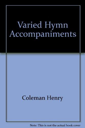 9780193231900: Varied Hymn Accompaniments