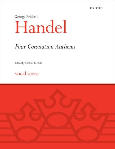 9780193352582: Four Coronation Anthems: Vocal score (Classic Choral Works)