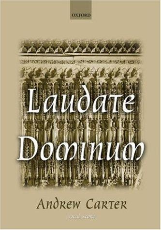 Laudate Dominum: Vocal score
